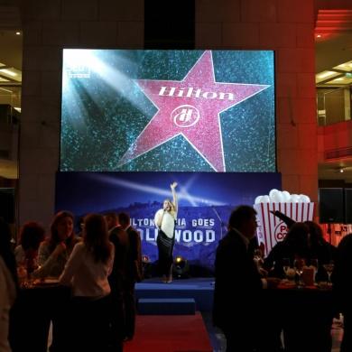 Hilton Sofia Goes Hollywood