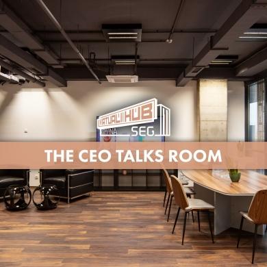 The CEO Talks Room